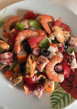 Salpicón o ensalada de marisco