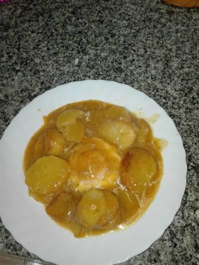 Patatas en salsa a mi manera