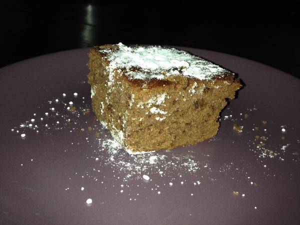 Torta de chocolate con aceite
