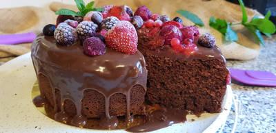 MayoChocolat Cake (Bizcocho de chocolate y mayonesa)