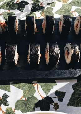 Sushi casero 🍣