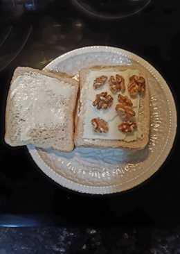 Sándwich de 3 quesos y nueces
