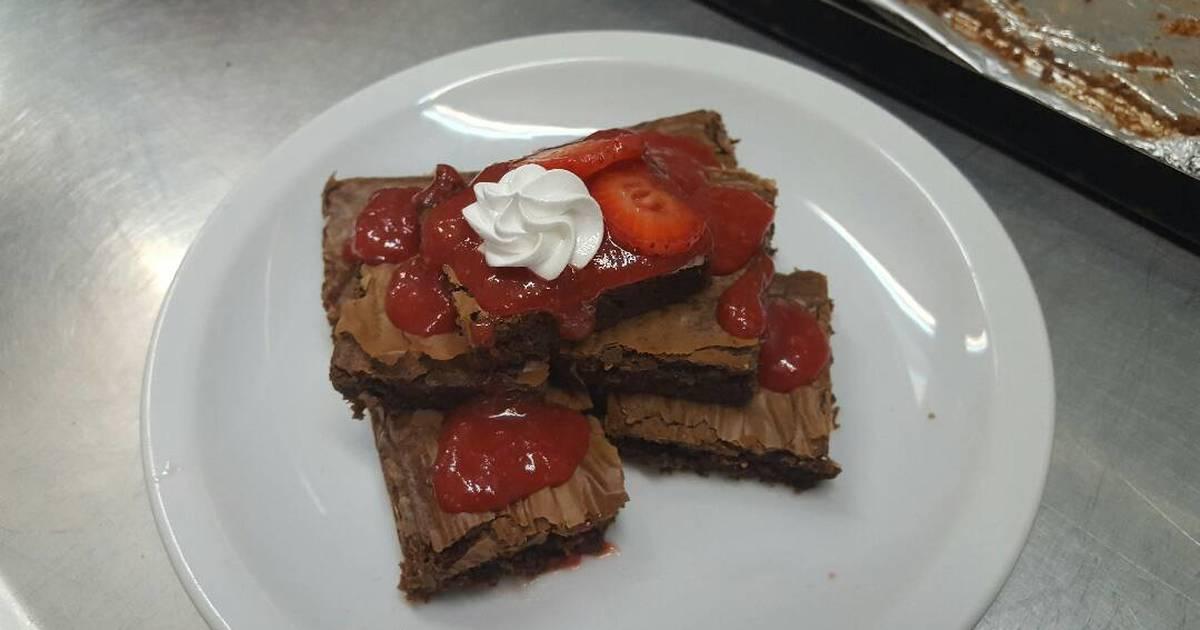 Brownies caseros receta de mart n mercado cookpad for Cocinar 180 grados