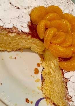 Bizcocho de mandarina - muy tierno 🍊