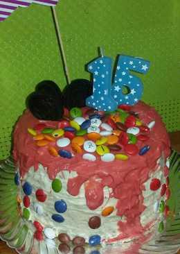 tarta para cumpleaos dripcake