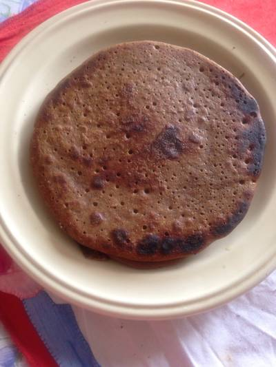 Tortitas de espelta, algarroba y semillas