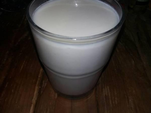 Agua de horchata natural
