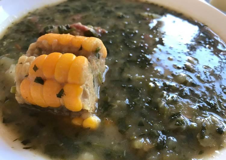 Potaje de berros (el auténtico de La Gomera)
