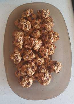 Cookies de chocolate y plátano