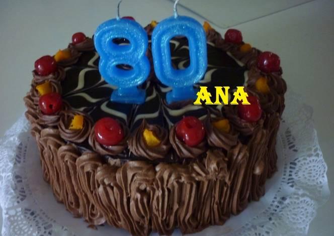 Torta cumplea os de var n 80 a os receta de gringa cookpad for En 8 dias cumplo anos