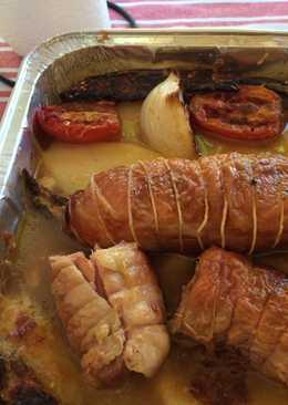Cocinar Redondo De Pollo Relleno | Pollo Relleno Con Jamon Y Queso 55 Recetas Caseras Cookpad
