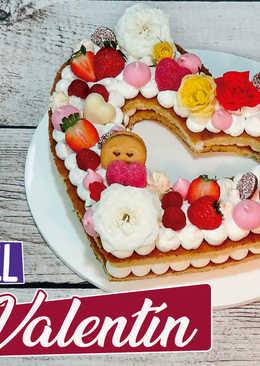 Tarta de San Valentín, tendencia 2018