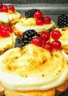 Tartaletas de crema Brûlée y olé con tus invitados!