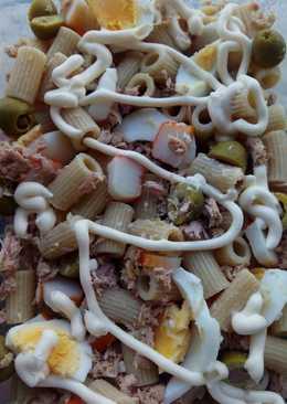 Ensalada de pasta integral