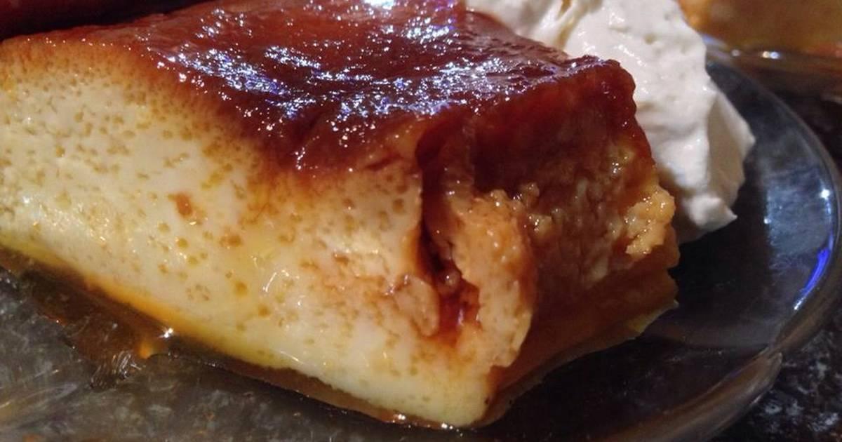 Flan casero receta de patito cookpad for Ingredientes para hacer flan casero