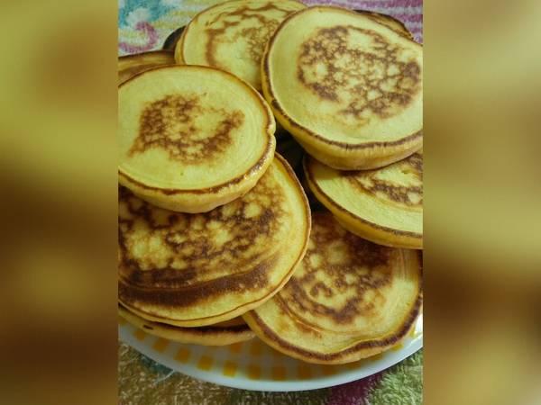 Pancakes de mandarina