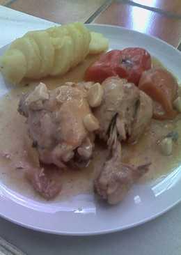 Pollo al limón estilo Mari Trini