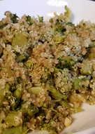 Salteado de Quinoa y Brócoli