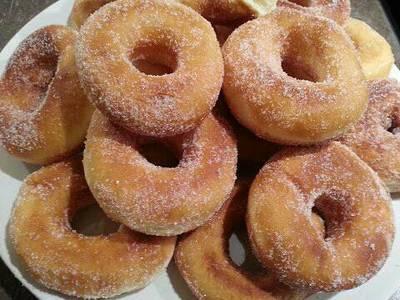 Rosquillas de vainilla, receta fácil y deliciosa