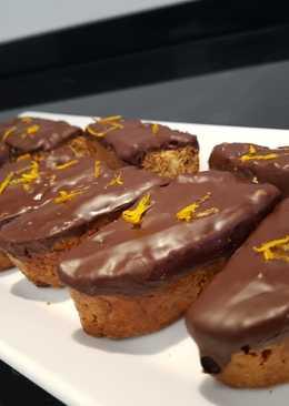 Biscotti de naranja y chocolate negro