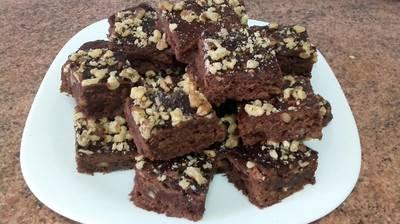 La mejor receta de brownie con chocolate y nueces