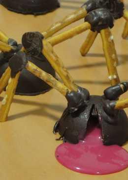 Arañas sangrientas para Halloween (Vídeo)