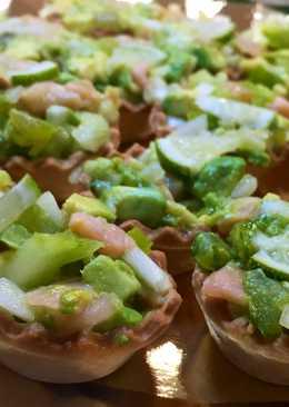 Tartaletas de salmón y aguacate para cualquier día ¡facilísimas!