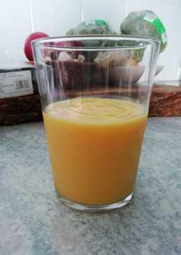 Smoothie mango + jengibre