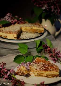 Tarta de Tiramisú a los 2 Chocolates con Galletas