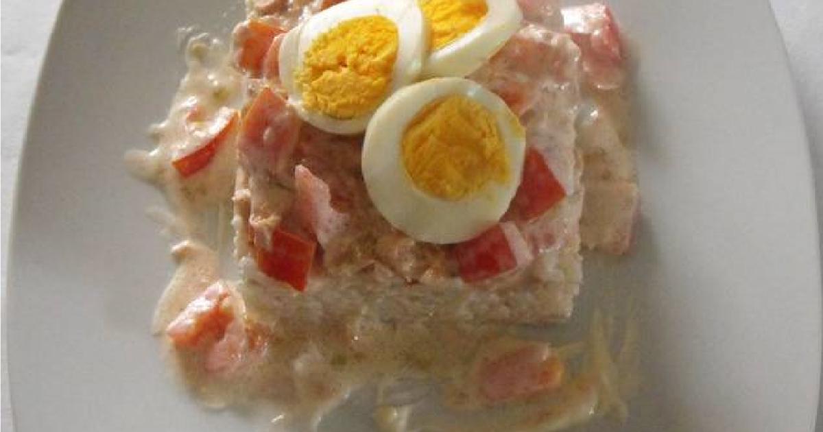 Arroz blanco con pescado 32 recetas caseras cookpad for Arroz blanco cocina al natural