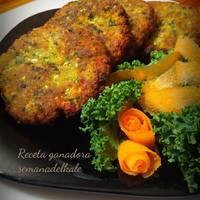 Hamburguesas de Kale y coliflor (Thermomix)