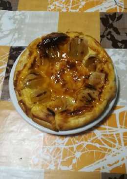 Tarta francesa de manzana apta para diabéticos en la olla GM g