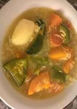 Sopa de verduras!!