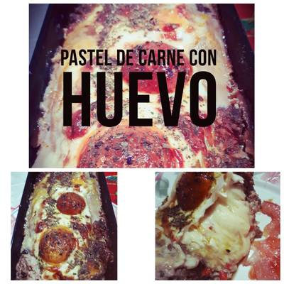 Pastel De Carne Con Huevo