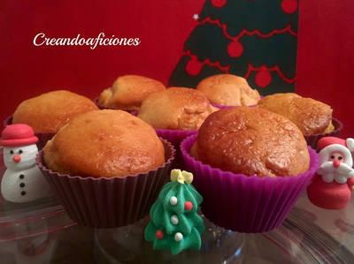 Muffins de turrón de Jijona sin mantequilla