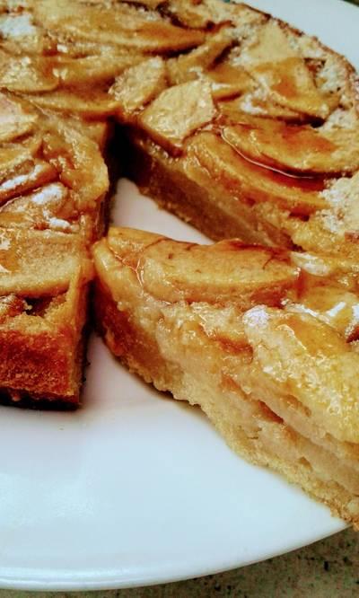 Torta de manzana sin harina