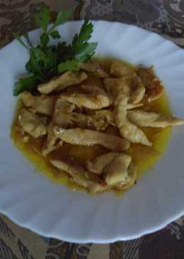 Pollo al currry