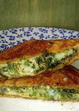 Sándwich de queso de Bombay, comida callejera india