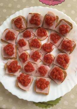Canapes de caviar 27 recetas caseras cookpad for Canape de caviar