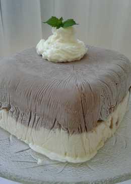 Torta helada Casata dos sabores