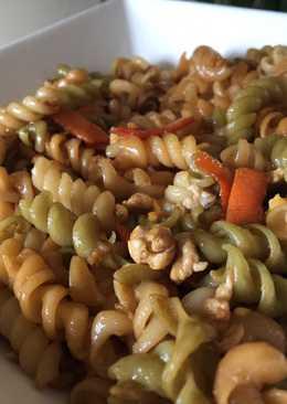 Macarrones chinos con salsa de soja (invento mío 😁)