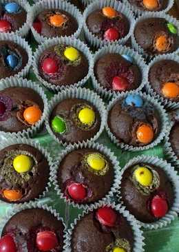 Muffins chocolate y rocklers