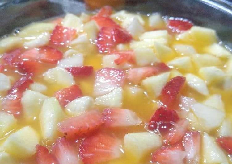 Macedonia de frutas receta de rociolitran cookpad - Macedonia de frutas thermomix ...