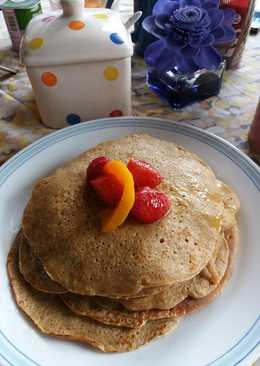 Crepes de avena para el desayuno