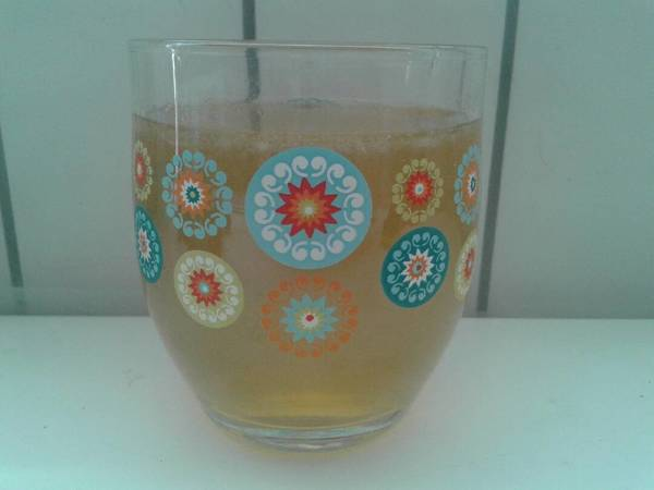 Limonada con azúcar integral de caña / panela