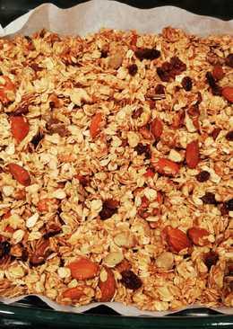 Granola casera (muesli)