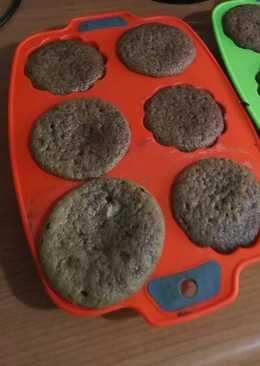Muffins o quequitos de cacao para APLV