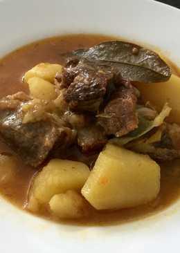 Guiso de ternera con patatas en Crock-Pot