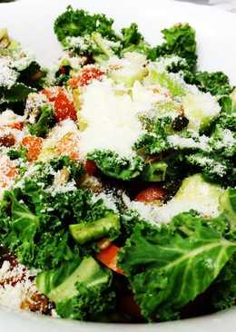 Ensalada energética de col kale