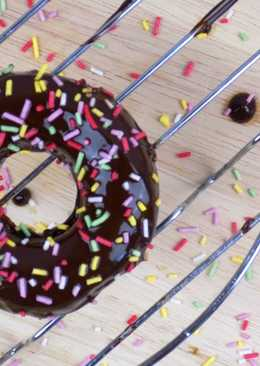 Donuts saludables de yogur griego